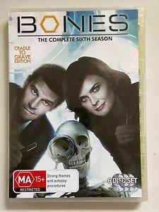 BONES-Season-6-Cradle-To-Grave-Edition-6-Dvd-Set-VGC