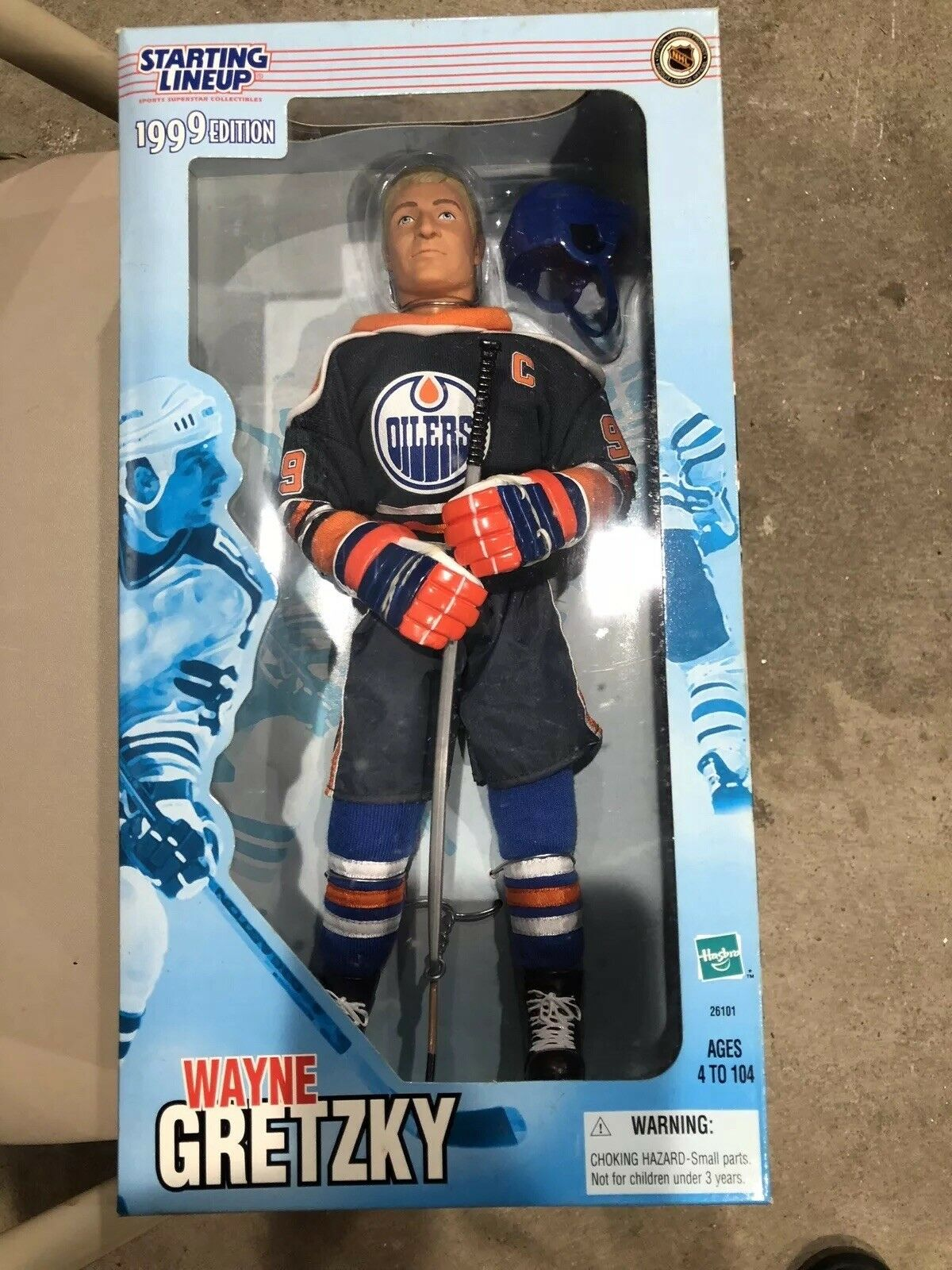 1999 Starting Lineup WAYNE GRETZKY 12 Inch Mint Oilers Rangers