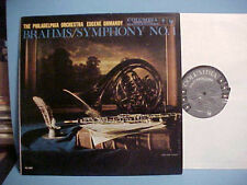 EUGENE ORMANDY LP BRAHMS SYMPHONY NO. 1 IN C MINOR OP. 68 VINYL RECORD HI-FI
