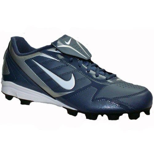 Nike Keystone Low Navy/White Men's Baseball Cleats 375560 411  Price reduction