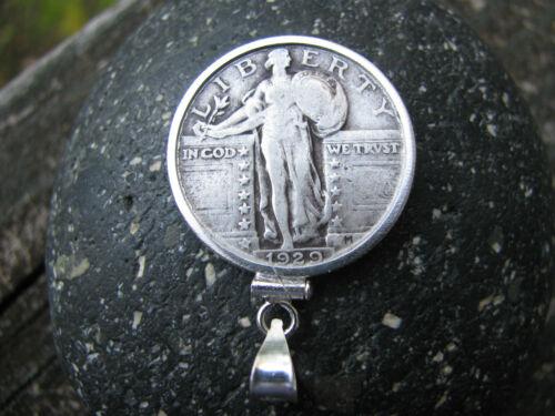 Soaring Eagle Silver Quarter pendentif made in USA conçue avec précision 90/% Argent