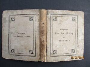 C-A-Baumann-DIE-HAUPT-UND-RESIDENZSTADT-MUNCHEN-1832-6-Ansichten-1-Plan