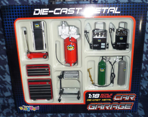 Die-cast Metal Car Garage Accessories 1 18 Scale by KinsFun KinsFun KinsFun 33188a