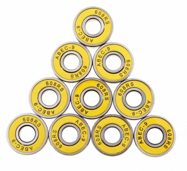 6x15x5 mm 696-2RS 5 Pcs BLACK Rubber Sealed Ball Bearing Bearings 696RS