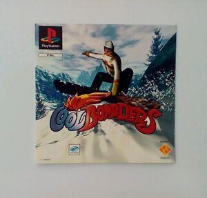 * Incrustation Avant Seulement * Cool Boarders Incrustation Avant Ps1 Psone Playstation-afficher Le Titre D'origine Ub1gghvd-07190024-717994579