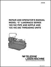 Landis Model C Pipe And Nipple Threader Manual