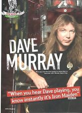 "IRON MAIDEN Dave Maiden' sound magazine PHOTO / mini Poster 11x8"""