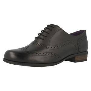 Negros Hamble Ajuste D Piel Ancho Mujer Cordones Con De Clarks Zapatos Roble RwdAnqwpY