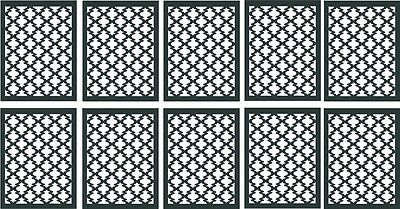 10 MOROCCAN Nail Vinyl Decal Stencils *Fast Free Shipping!