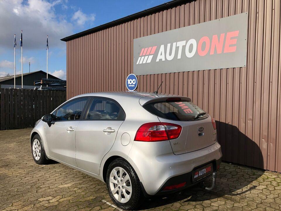 Kia Rio 1,2 CVVT Active Benzin modelår 2013 km 89000