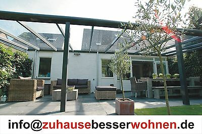 Vsg Glas Products Hot Sale Open-Minded Aluminium Terrassenüberdachung Terrassendach Vsg Glas 5 X 2 M Incl Home & Garden Garden Structures & Shade