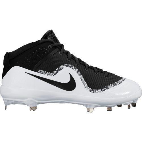 Fuerza de  béisbol Nike Air Trucha Botines De Metal De Béisbol 4 Pro 917920-001 Negro blancoo  ventas al por mayor