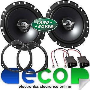 Landrover-Discovery-2-L318-JVC-17cm-600-Watts-Rear-Door-Car-Speakers-amp-Brackets