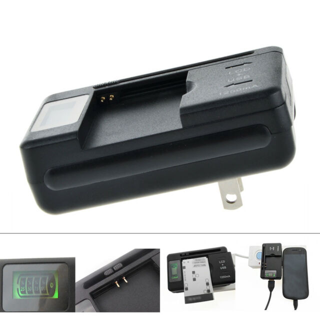 LCD Screen Universal Battery Charger for Samsung Galaxy Proclaim SCH-S720C T759
