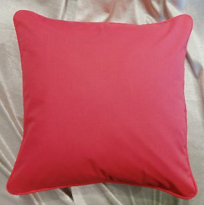 Pillow Case / Cushion Cover 100% Cotton Soft Plain Solid Colors Custom Size