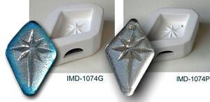IMD-1074P-BETHLEHEM-STAR-PREDRILLED-JEWELRY-pendant-GLASS-FUSING-pod-mold