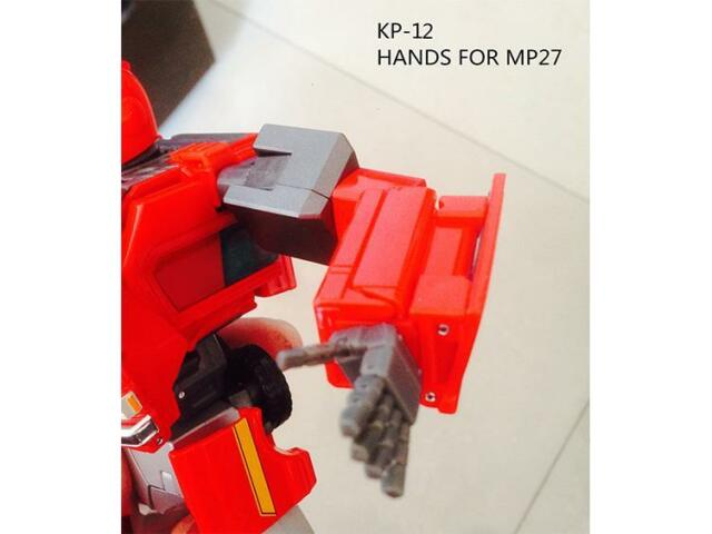 KFC KP12 KP-12 MP27 Ironhide POSABLE HANDS NEW In stock