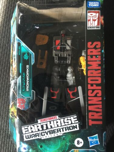 Ironworks Sealed War for Cybertron Transformers: Earthrise