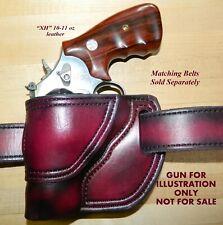 Gary Cs Leather Avenger Owb Left Hand Holster Smith Ampwesson L Frame 2 1 2