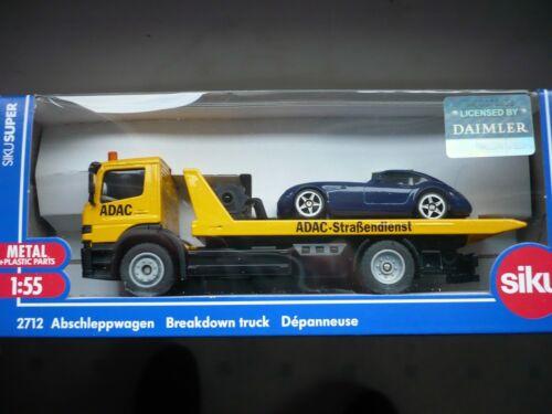 Blechspielzeug Siku 1667 Abschleppwagen mit PKW Apschleppauto Siku Super NEU