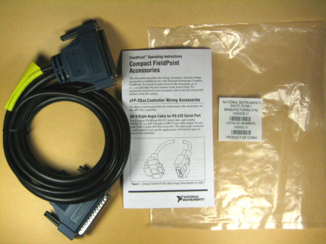 National Instruments  SH37F-Y37M-1  Shielded Cable 1M