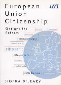 European-Union-Citizenship-Options-for-Reform-Brand-New-Free-P-amp-P-in-the-UK