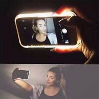 New LED White Light Up Latest Selfie Phone Case Cover For iPhone 6 6S