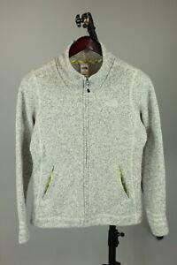 THE-NORTH-FACE-Women-s-MEDIUM-Funnel-Neck-Soft-Polyester-Fleece-Jumper-RCS9717