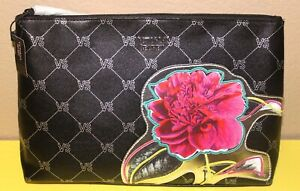 New With Tag Genuine Victoria/'s Secret Floral Wristlet Clutch Purse