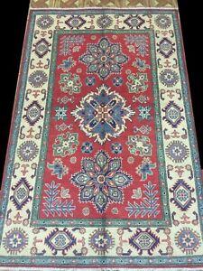 Image Is Loading Oriental Handmade Rug 4 X 6 Kazak Antique