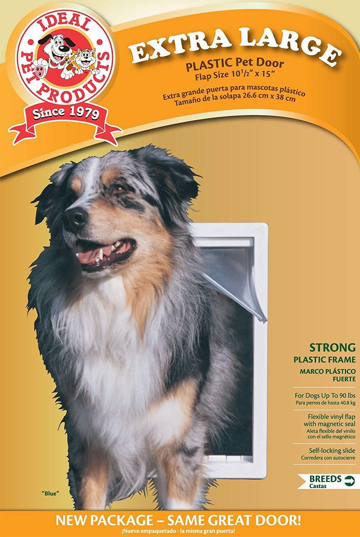 a prezzi accessibili Ideal Ideal Ideal Extra Large Original Frame Pet Dog Plastic Door 10.5 x15  USA  Sconto del 70%