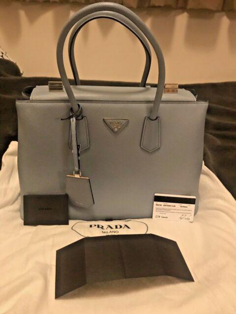 69fd0425a532b5 Prada Saffiano Cuir Twin Tote Bag BN2748 | eBay
