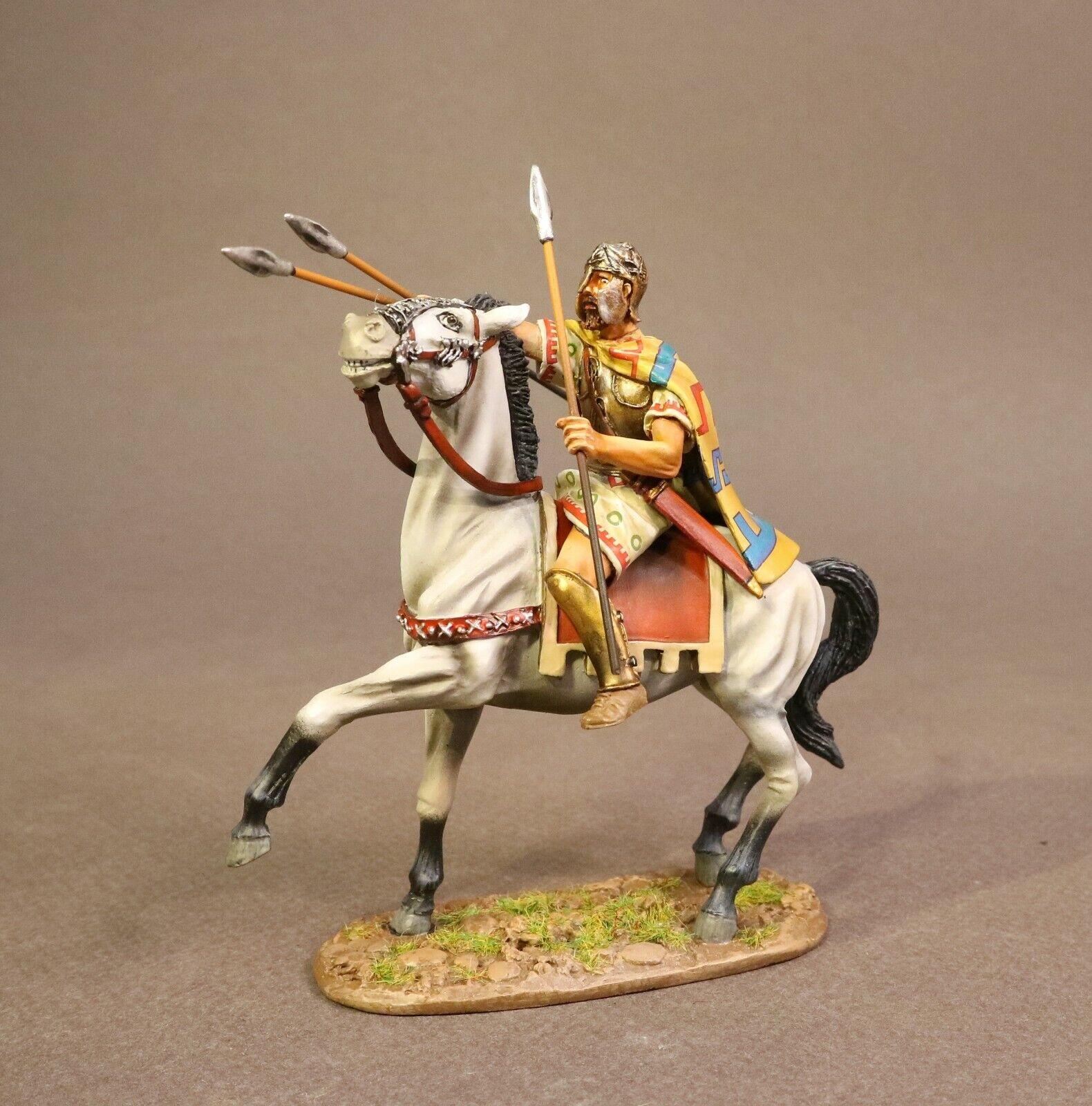 John Jenkins Roman Empire Age Of Arthur TH-01 Thracian King auf Pferd MIB