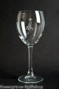 Irish Dancing large Wine Glass (11oz) (can be personalised) Gift boxed