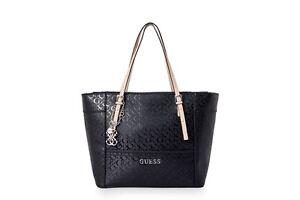 Détails sur Delaney G Logo Affair Classique Fourre tout sac à main sac noir fashion bandoulière afficher le titre d'origine