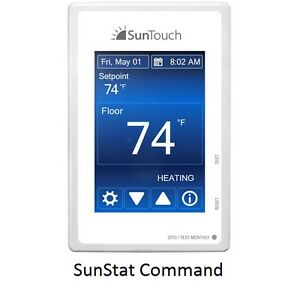 SunTouch-Thermostats-Connect-Command-Core-Relay-C3-All-SunStat-Styles