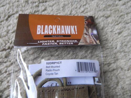 Blackhawk 52DRP1CT Tan Belt Mounted Radio Pouch