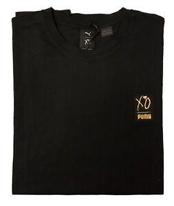 d9ae84cbd PUMA x THE WEEKND XO T-SHIRT 575351-01 Black/Yellow (MEN'S XL ...