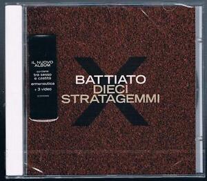 FRANCO-BATTIATO-DIECI-STRATAGEMMI-CD-SIGILLATO