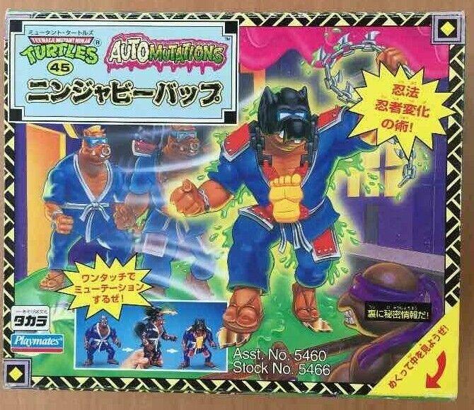 Ninja Bee Bop Teenage Mutant Ninja Turtles   Vintage Playmates cifra 1994  contatore genuino