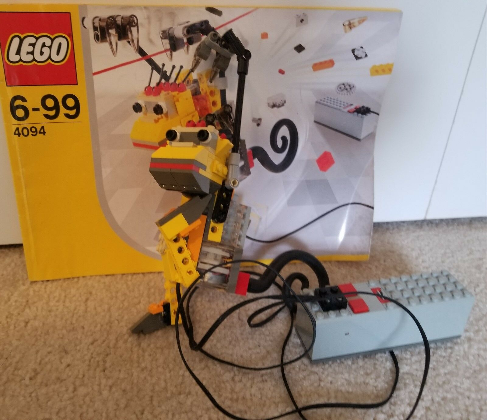 Lego Make and Create Inventor Set Motor Movers (4094) - 100% complete