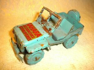 Jeep Tole Joyax Ou Polichinelle Sahara Longueur 13 Cm Larg 7