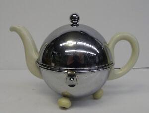 antique-teapot-D-R-P-Bauscher-Kugelkanne-Thermo-Kanne-Teekanne-Art-Deco-30er