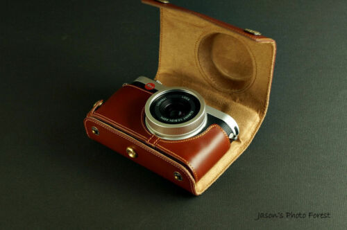 Genuine real Leather Full Camera Case bag Cover for Leica X-E Typ 102 X2 X1