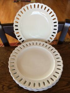 Image is loading Lot-of-4-Dinner-Plates-10-034-PS- & Lot of 4 Dinner Plates 10