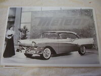 1957 Ford Fairlane Hardtop Canadain Meteor 11 X 17 Photo Picture