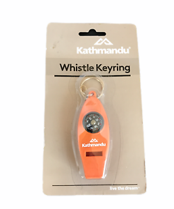 Pack of: 2 - PC-90760-Z02 4-in-1 Multi-Purpose Whistle Compass and Magnifier