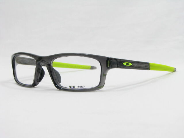 e031629df9 Oakley Crosslink Pitch Grey Smoke RX Eyeglasses Ox8037-0254 54mm for sale  online