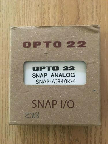 Opto22 SNAP-AIR40K-4 SNAP 4-Ch Analog Thermistor Input Module New!