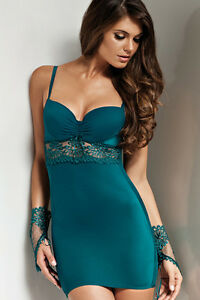 comfortable feel big discount replicas Details about Sexy Bella Lisca Euphoria Bra Slip with lace beautiful Sea  Green color LAST ONE!